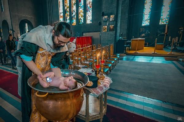 photo de baptême